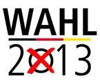 Machen Sie 2013 von Ihrem Wahlrecht Gebrauch